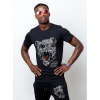 Tshirt Grizzly Noir Strass