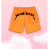 Short de Bain Stunner Orange Fluo
