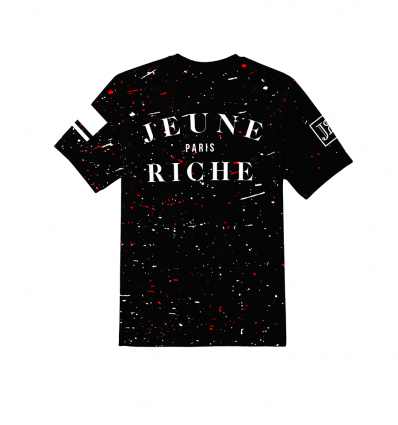 T-shirt Zongo Tâches Black