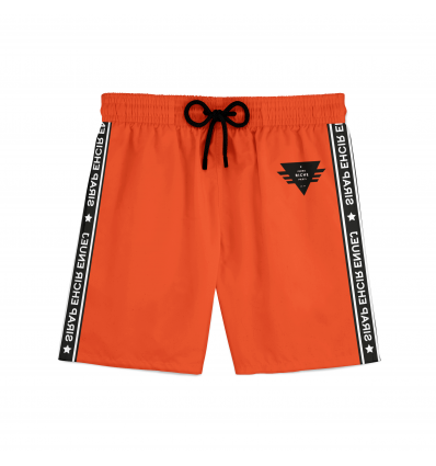 Short de Bain Storm Orange Fluo