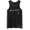 Jersey Basket Miami Black