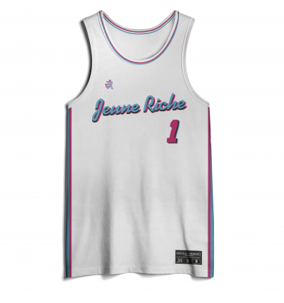 Jersey Basket Miami White