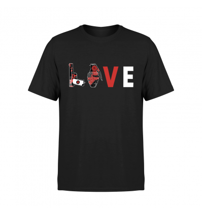 Tshirt LOVE Black