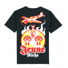 Tshirt World Bomber Fire Black