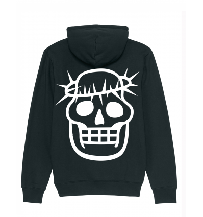 Hoodie -Crown Black Gold