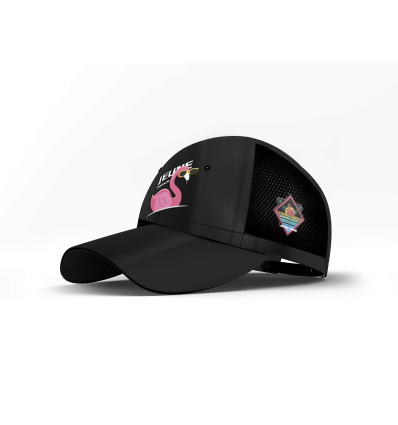 CaPS Flamingo Black  Satin